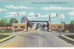 Iowa Dubuque Julien Dubuque Bridge Toll House - Dubuque