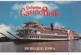 Iowa Dubuque The Dubuque Casino Belle Passenger Vessel - Dubuque