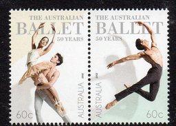 AUSTRALIA, 2012 BALLET PAIR  MNH - 2010-... Elizabeth II