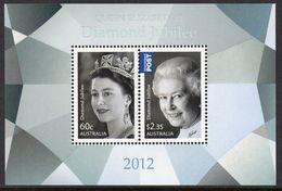AUSTRALIA, 2012 QUEENS JUBILEE MINISHEET MNH - 2010-... Elizabeth II