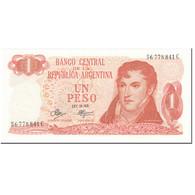 Billet, Argentine, 1 Peso, 1972, Undated (1972), KM:287, NEUF - Argentine