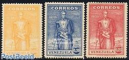 Venezuela 1930 Simon Bolivar 3v, (Mint NH), History - Politicians - Venezuela
