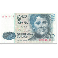 Billet, Espagne, 500 Pesetas, 1979, 1979-10-23, KM:157, SUP+ - [ 4] 1975-… : Juan Carlos I