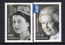 AUSTRALIA, 2012 QUEENS JUBILEE 2 MNH - 2010-... Elizabeth II
