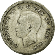 Monnaie, Canada, George VI, 10 Cents, 1940, Royal Canadian Mint, Ottawa, TB - Canada