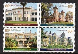 AUSTRALIA, 2013 GOVERNMENT HOUSES BLOCK 4 MNH - 2010-... Elizabeth II