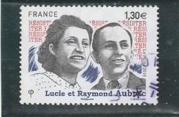 FRANCE 2018 LUCIE ET RAYMOND AUBRAC OBLITERE YT 5219 - France