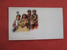 Private Mailing Card--  Ute Children     Detroit Publisher    Ref 3111 - Indiani Dell'America Del Nord