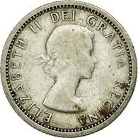 Monnaie, Canada, Elizabeth II, 10 Cents, 1955, Royal Canadian Mint, Ottawa, TB+ - Canada