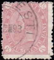 ROMANIA - Scott #101 King Carol I / Used Stamp - 1881-1918: Charles I
