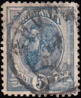ROMANIA - Scott #120 King Carol I (*) / Used Stamp - 1881-1918: Charles I