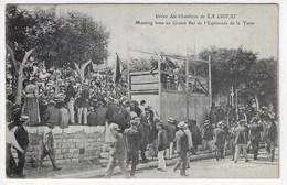13 - Grève Des Chantiers De LA CIOTAT - Meeting Tenu Au Grand Bal De L'Esplanade De La Tasse - Animée (N166) - Grèves