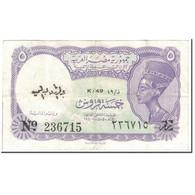 Billet, Égypte, 5 Piastres, 1980-1982, Undated (1980-1982), KM:182h, TTB - Egypte