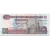 Billet, Égypte, 50 Pounds, 2005, UNDATED (2005), KM:66d, NEUF - Egypte