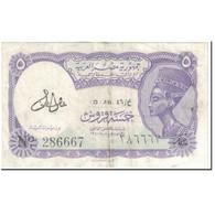 Billet, Égypte, 5 Piastres, 1978-1980, Undated (1978-1980), KM:182g, TTB - Egypte