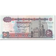 Billet, Égypte, 50 Pounds, 2001, Undated (2001), KM:66a, NEUF - Egypte