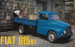 Publicité - FIAT 615 N1 - Camion - 1962 - - Camions
