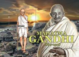 Guinea Bissau 2010 Mahatma Gandhi ( 1869 – 1948 ), - Guinea-Bissau