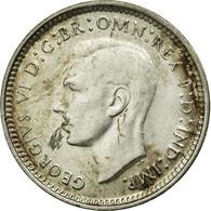 Monnaie, Australie, George VI, Threepence, 1944, TTB, Argent, KM:37 - Monnaie Pré-décimale (1910-1965)