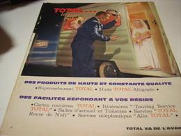 ANCIENNE PUBLICITE LE BON RELAIS TOTAL 1962 - Transports