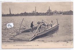 LA BOUILLE- PASSAGE DU BAC- DEUX VACHES- DEUX PECHEURS- LE FACTEUR ET LE PASSEUR - France