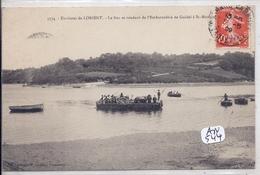 GUIDEL- LE BAC SE RENDANT DE L EMBARCADERE DE GUIDEL A ST-MAURICE - Guidel