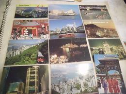 LOT DE 12 CARTES DE HONG KONG - Cartoline