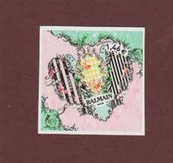 1373 De 2017 - Neuf ** - Adhésif - Coeur De BALMAIN - 1,46.€ - Issu D'une Feuille De 30 Timbres - 2 Scannes - Autoadesivi