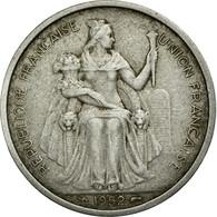 Monnaie, FRENCH OCEANIA, 5 Francs, 1952, B+, Aluminium, KM:4 - Polynésie Française