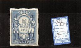 SARRE - 342** - 1947-56 Occupation Alliée