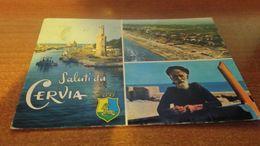 Cartolina: Saluti Da Cervia Viaggiata (a32) - Cartoline