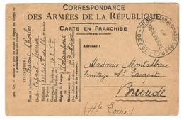 11931 - 21e BATAILLON DE CHASSEURS A PIED - Marcophilie (Lettres)