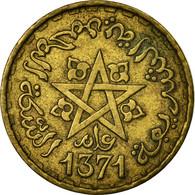 Monnaie, Maroc, Mohammed V, 10 Francs, 1951/AH1371, Paris, TB, Aluminum-Bronze - Maroc