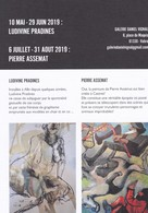 Ludivine Pradines, Techniques Mixtes, Pierre Assémat, Huile Sur Toile - Galerie Daniel Vignal - Mai/Août 2019 - Autres Collections