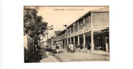 DIEGO SUAREZ RUE DE FLACOUR ,LE 14 JUILLET ,POUSSE POUSSE ,BELLE ANIMATION  REF 58484C - Madagaskar