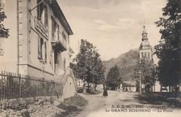 I8 - 74 - LE GRAND-BORNAND - Haute-Savoie - La Poste - Autres Communes