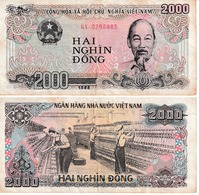 Viêt-Nam 2000 Dong - Viêt-Nam