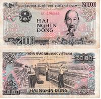 Viêt-Nam 2000 Dong - Vietnam