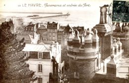 N°68523 -cpa Le Havre -panorama Et Entrée Du Port- - Harbour
