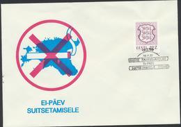 51-513  Estonia 19.11.1992 Non-smoking Day Mi 193 - Estland