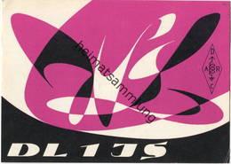 QSL - Funkkarte DL1JS - Iserlohn - 1961 - Amateurfunk