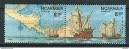 Nicaragua 1986. Colon. Yvert 1433-34 ** MNH. - Nicaragua