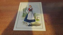 Cartolina:costumi Alpini Illustrata Non Viaggiata (a32) - Cartoline