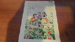 Cartolina:Bambini Buona Pasqua Viaggiata (a32) - Cartoline