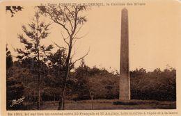 Cp , 56 , Entre JOSSELIN Et PLOËRMEL , La Colonne Des Trente - Josselin