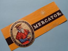 Gerardi MERCATORIS Rupelmundani 1512 - 1594 MERCATOR Stella ( Formaat > L =  +/- 18 Cm.) + Xtra ! - Bagues De Cigares
