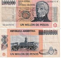 Argentine 1.000.000 Pésos - Argentinië