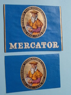 Gerardi MERCATORIS Rupelmundani 1512 - 1594 MERCATOR ( Formaat > L =  +/- 10,5 Cm.) + Xtra ! - Bagues De Cigares