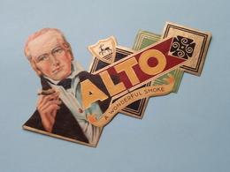 ALTO A Wonderful Smoke ( Formaat > L =  +/- 14,5 Cm.) ! - Bagues De Cigares