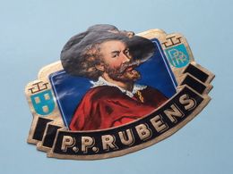 P P RUBENS ( Formaat > L =  +/- 13 Cm.) ! - Bagues De Cigares